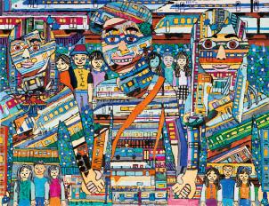観光庁長官賞/早川拓馬[ ネモフィラ通過・電車の旅 ]三重