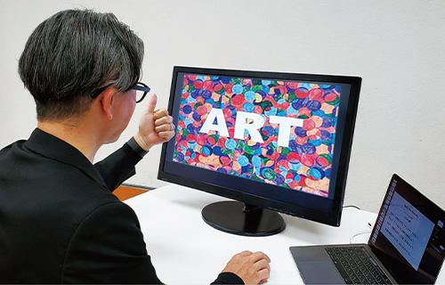 対話型アート鑑賞ワークショップイメージ1