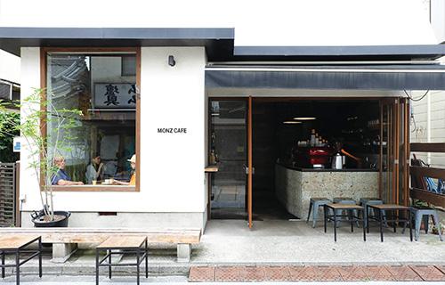 MONZ CAFE外観
