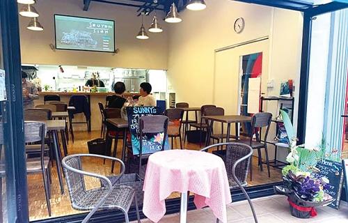 SUNNY's café&surf外観